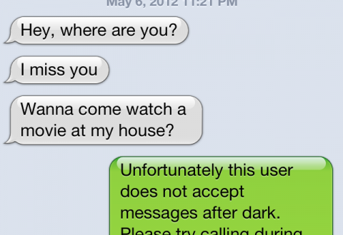 Image of Late Night Text
