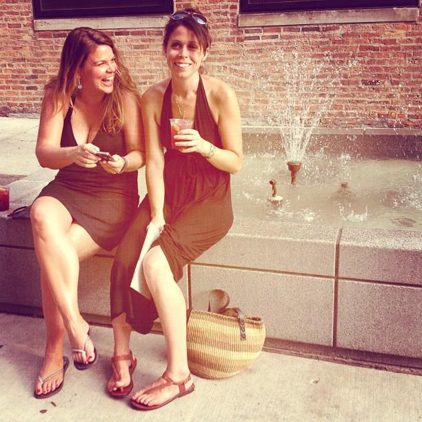 Women Texting Back
