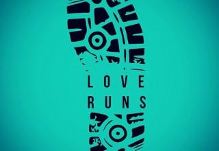 Love Runs Remote 5K TShirt