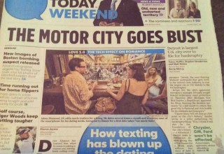 USA TODAY Texting has blown up the dating culture