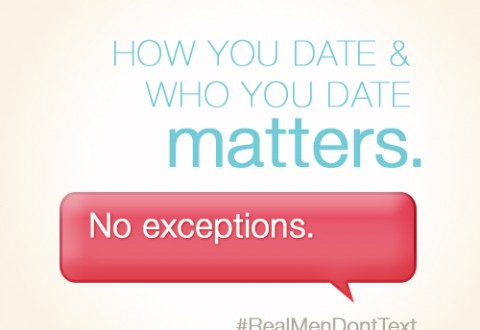 how you date and who you date matters. no exceptions